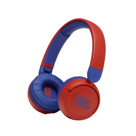 JBL Jr310BT - Red - Kids Wireless on-ear headphones - Hero